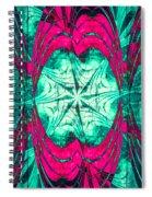 Pink Overlay Spiral Notebook