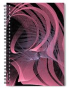 Pink Panels Spiral Notebook