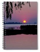 Pink Paradise Pond Spiral Notebook