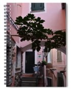 Pink Patio Spiral Notebook