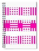 Pink Patterns Spiral Notebook