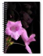 Pink Penstemon Spiral Notebook