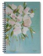 Pink Petals Spiral Notebook