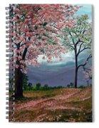 Pink Poui Spiral Notebook