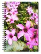 Pink Propellers  Spiral Notebook
