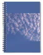Pink Puffy Clouds Spiral Notebook