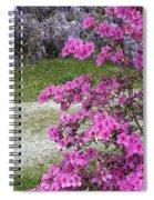 Pink Purple Mississippi Blooms Spiral Notebook
