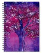 Pink Spring Awakening Spiral Notebook