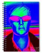 Pink Sunglasses Spiral Notebook