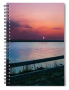 Pink Sunset Spiral Notebook