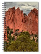 Pink Towers Of The Gods Spiral Notebook