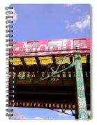 Pink Train Spiral Notebook