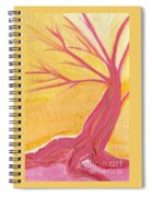 Pink Tree By Jrr Spiral Notebook