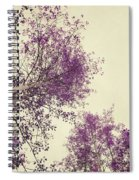 Pink Trees Spiral Notebook