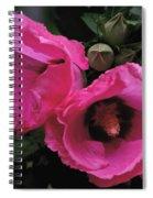 Pink Twins Spiral Notebook