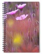 Pink Wild Geranium Spiral Notebook
