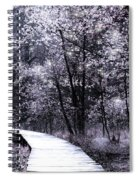 Pink Woodland Spiral Notebook