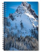Pinnacle Peak Winter Glory Spiral Notebook