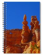 Pinnacles Of Red Rock Spiral Notebook