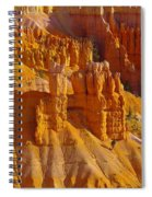 Pinnicles At Sunset Point Bryce Canyon National Park Spiral Notebook