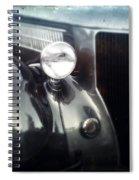 Pinstripe Spiral Notebook