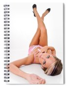 Pinup Girl's Legs Spiral Notebook