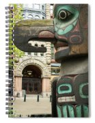 Pioneer Square Seattle Spiral Notebook