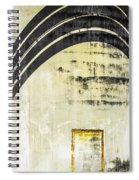 Piped Abstract 4 Spiral Notebook