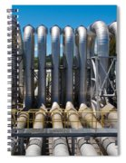 Pipeline Installation For Distribution And Supply Spiral Notebook