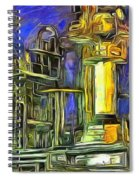 Pipes Spiral Notebook