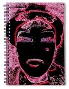 Pippas Pink Beauty Mark Spiral Notebook