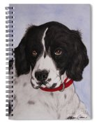 Pippy The Springer Spaniel Spiral Notebook