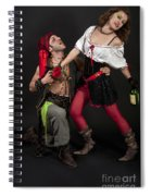 Pirate Couple 1 Spiral Notebook