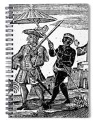 Pirate Henry Every, 1725 Spiral Notebook