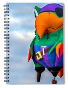 Pirate Parrot Pegleg Pete Spiral Notebook