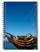 Pirate Ship Spiral Notebook