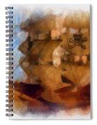Pirate Ship Photo Art Spiral Notebook