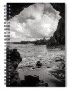 Pirate Treasure Cave Pa'iloa Beach Spiral Notebook