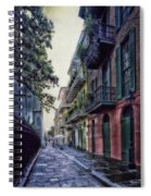 Pirate's Alley In New Orleans Spiral Notebook