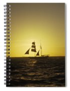 Pirates At Sea - Caribbean Spiral Notebook