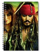 Pirates Of The Caribbean Stranger Tides Spiral Notebook