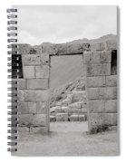 Pisac Architecture Spiral Notebook