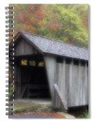 Pisgah Covered Bridge Spiral Notebook