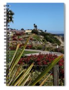 Pismo Beach Landscape Spiral Notebook