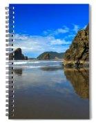 Pistol River Sea Stacks Spiral Notebook