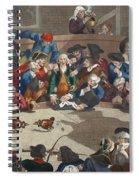 Pit Ticket, 5th November 1759 Spiral Notebook