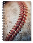 Pitchers Stitches Spiral Notebook