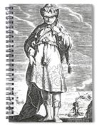 Pittacus Of Mytilene, Sage Of Greece Spiral Notebook