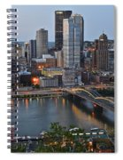 Pittsburgh Before Sunset Spiral Notebook