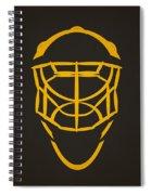 Pittsburgh Penguins Goalie Mask Spiral Notebook
